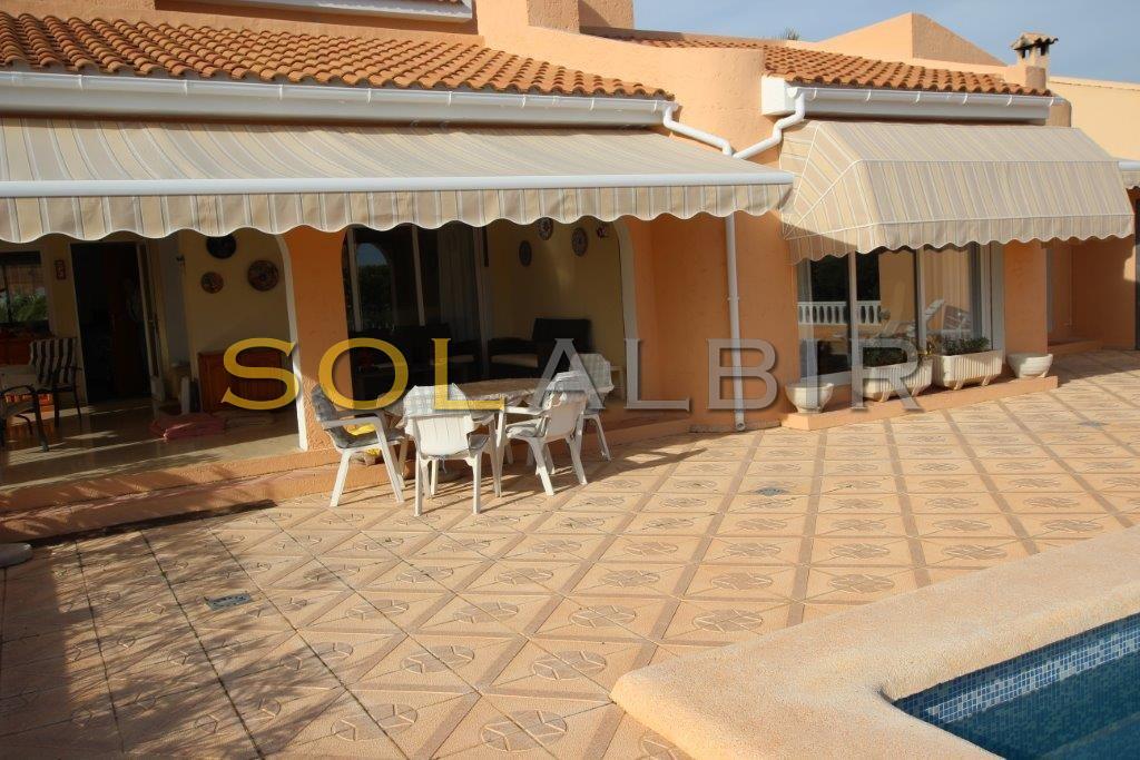 Big terrace / pool