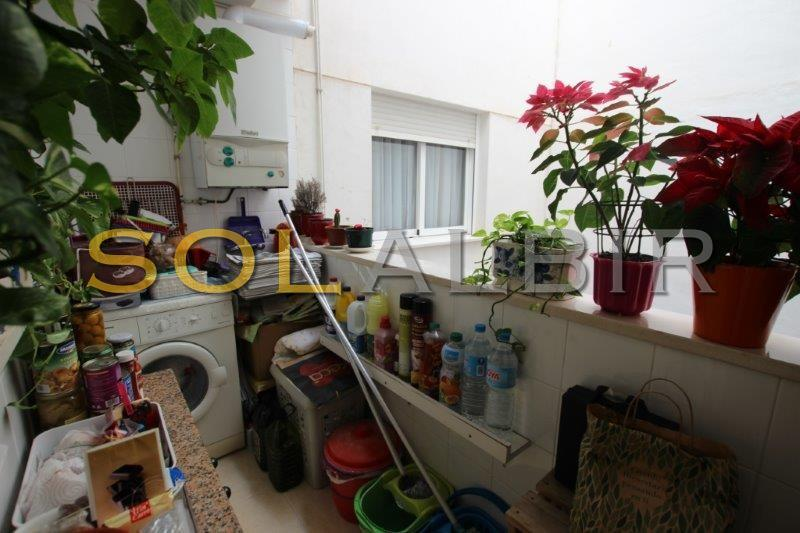 Balcony/utility room