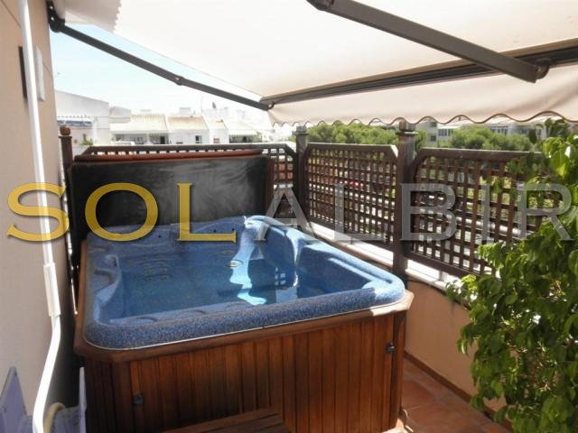 Jacuzzi on the terrace
