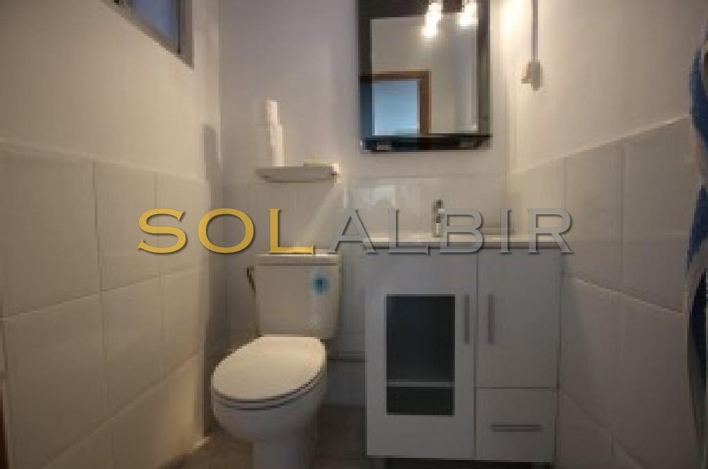 Toilet, Lower floor