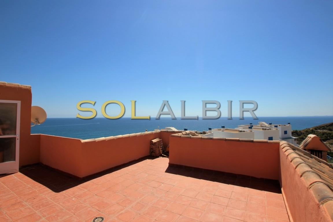 Spectacular views from the solarium