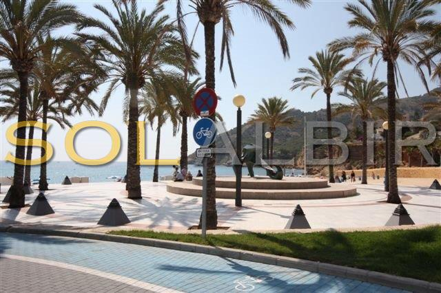 Meeting point at the beach Albir