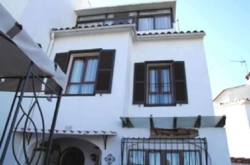 Spanish style facade