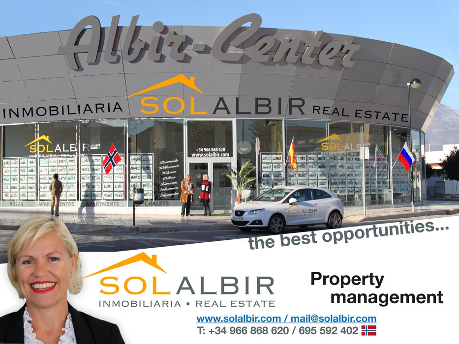 The SOLALBIR office by Mercadona in ALBIR