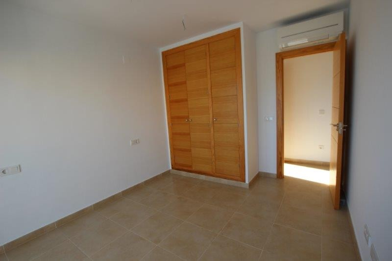 One of the bedrooms with fitted wardrobes
