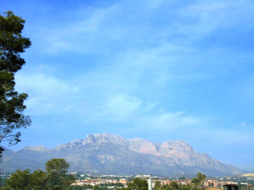 View of Puig Campana
