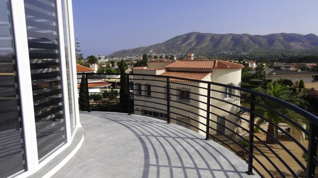 Main terrace, master bedroom,