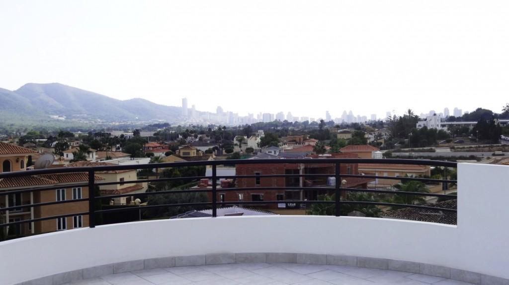View to Benidorm