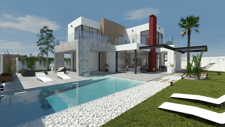 Ref:CBPNB098 Detached villa For Sale in Los Alcazares